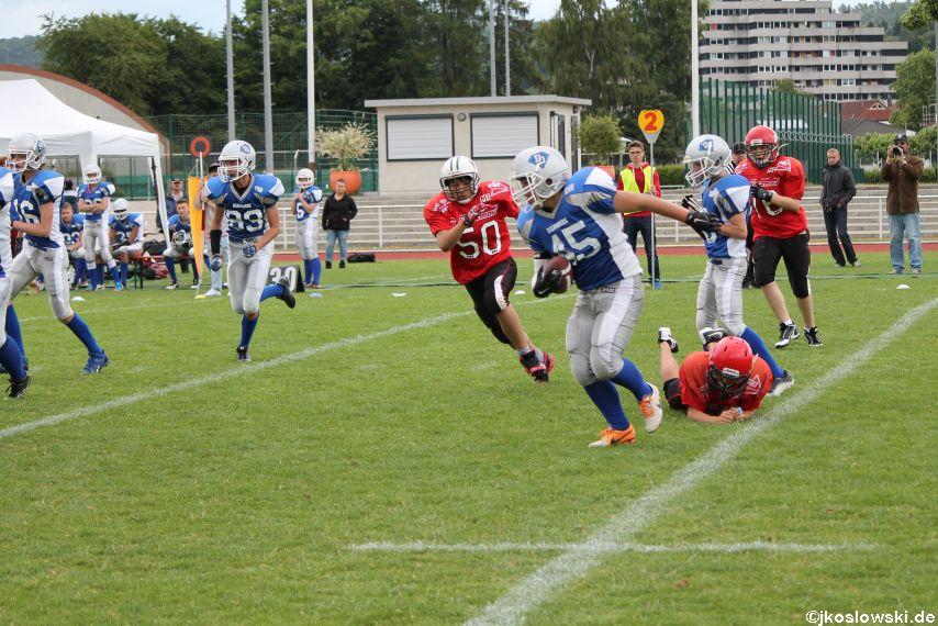Das finale Turnier der U15 Landesliga Mitte 198