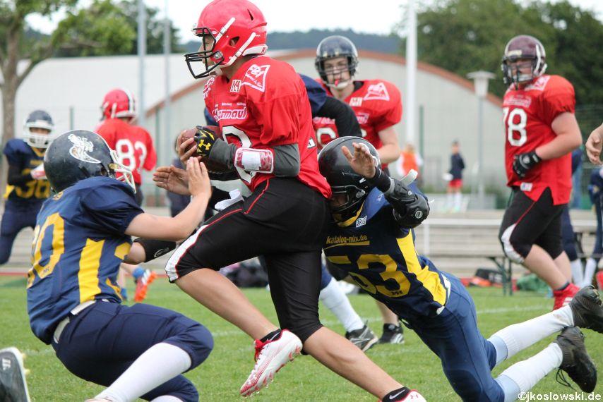 Das finale Turnier der U15 Landesliga Mitte 216