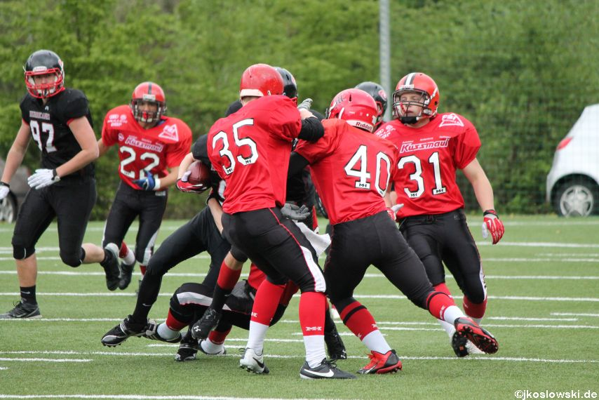 Marburg Mercenaries @ Saarland Hurricanes 010