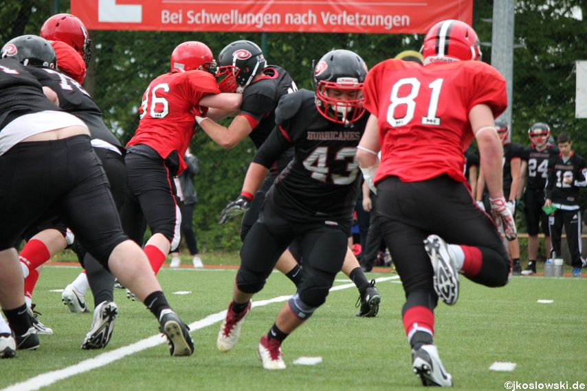 Marburg Mercenaries @ Saarland Hurricanes 021
