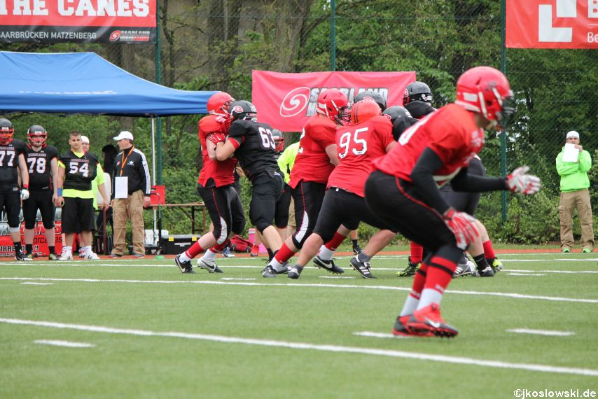 Marburg Mercenaries @ Saarland Hurricanes 072