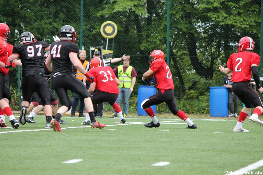 Marburg Mercenaries @ Saarland Hurricanes 089