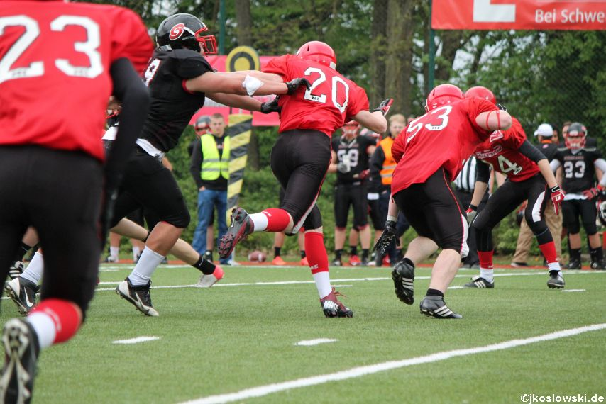 Marburg Mercenaries @ Saarland Hurricanes 123