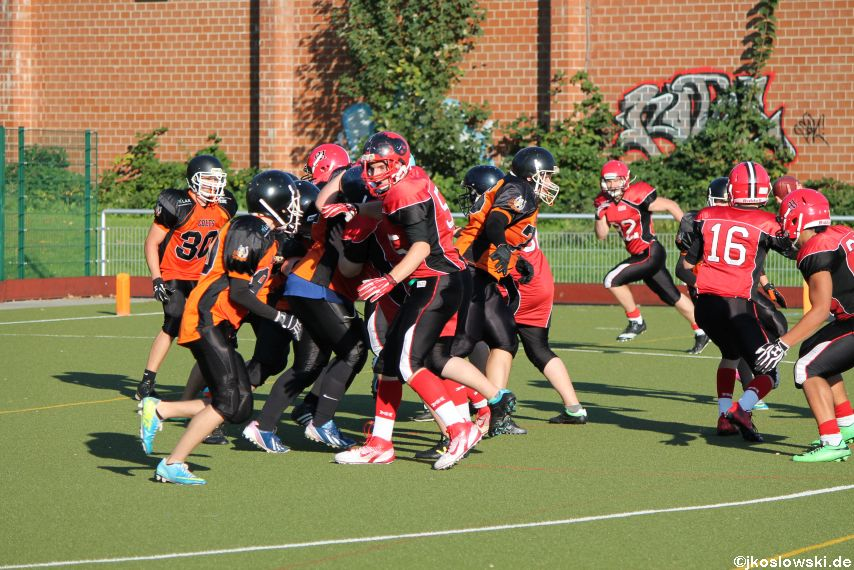 Marburg Mercenaries vs. Fulda Colts 123