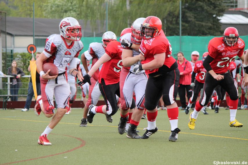 Marburg Mercenaries vs Kaiserslautern Pikes 011