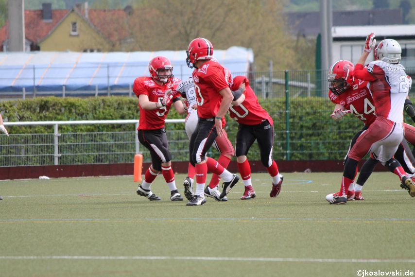 Marburg Mercenaries vs Kaiserslautern Pikes 043
