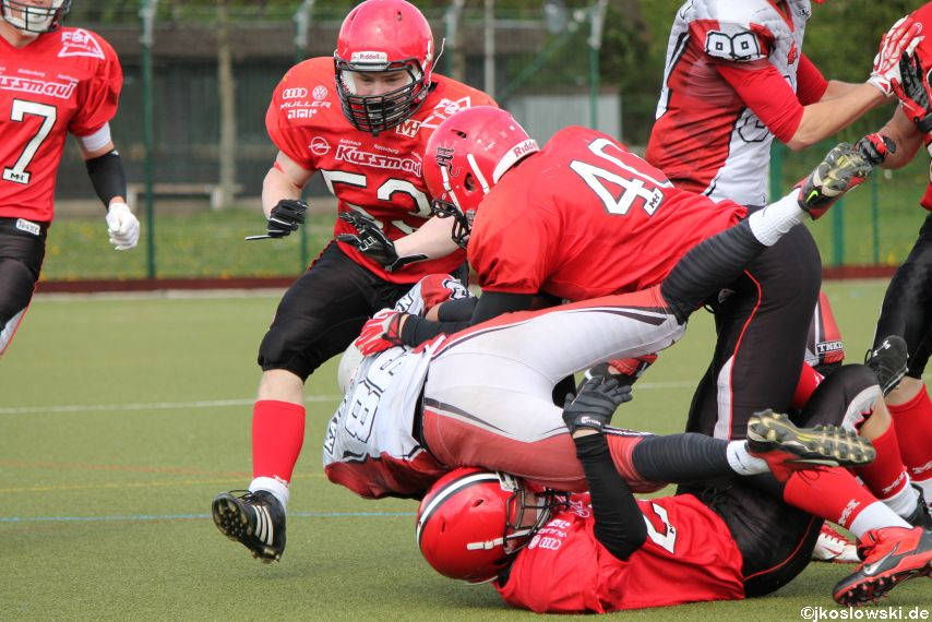 Marburg Mercenaries vs Kaiserslautern Pikes 100
