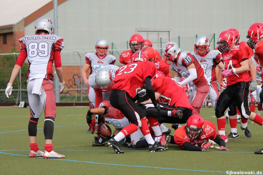 Marburg Mercenaries vs Kaiserslautern Pikes 103