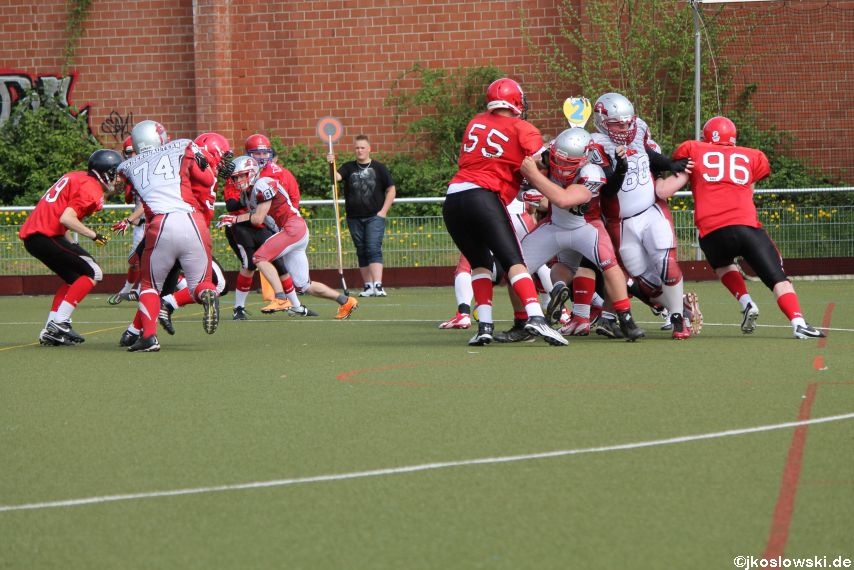 Marburg Mercenaries vs Kaiserslautern Pikes 125