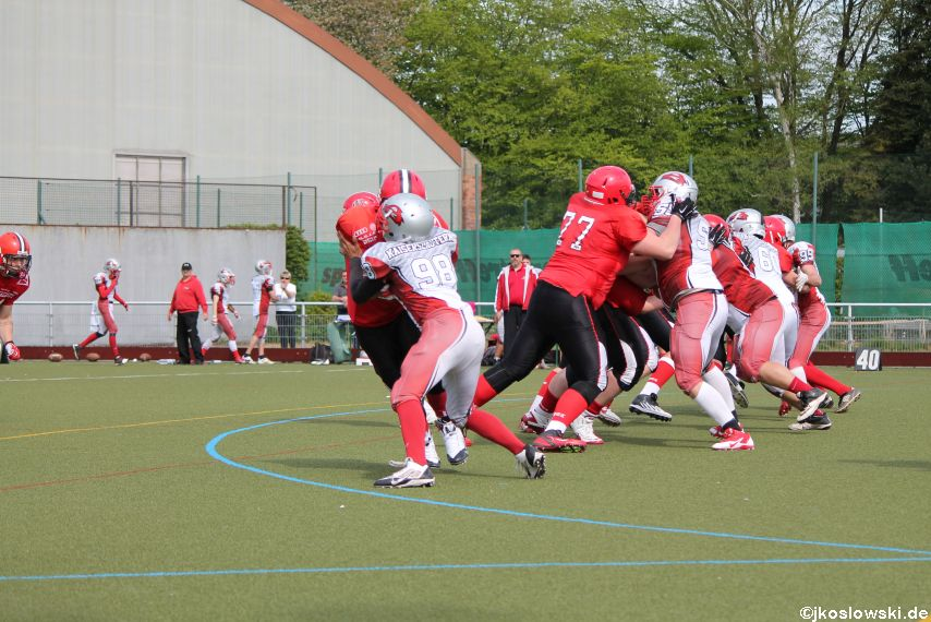 Marburg Mercenaries vs Kaiserslautern Pikes 135