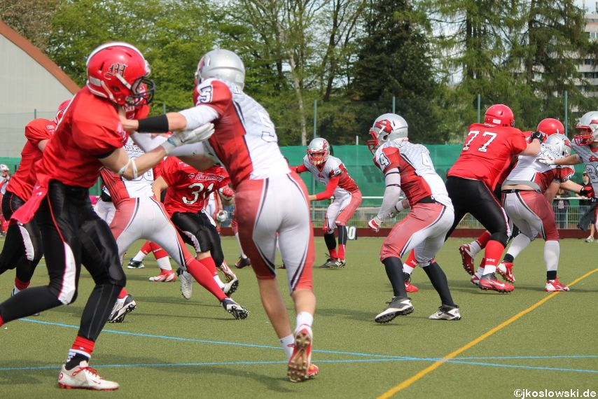 Marburg Mercenaries vs Kaiserslautern Pikes 137