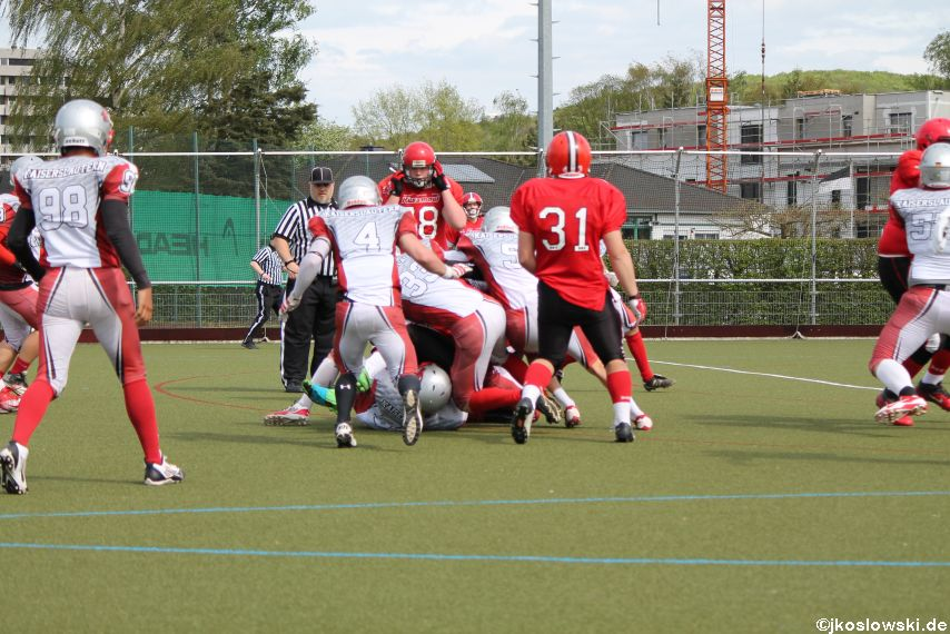 Marburg Mercenaries vs Kaiserslautern Pikes 140