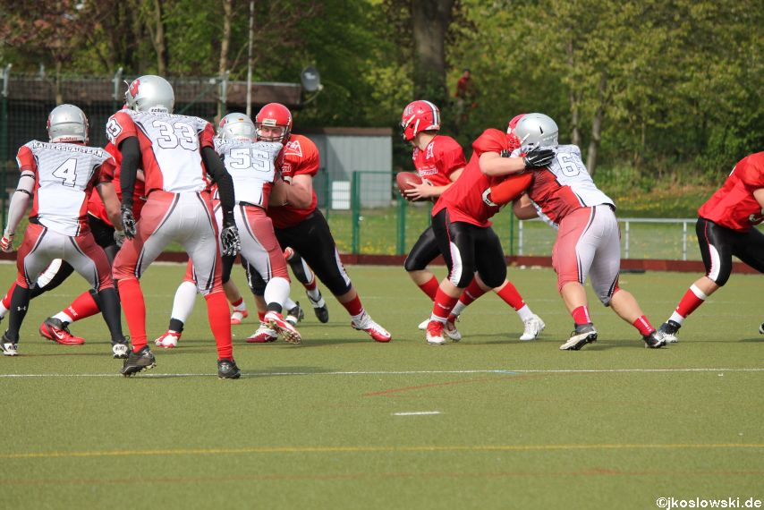 Marburg Mercenaries vs Kaiserslautern Pikes 143