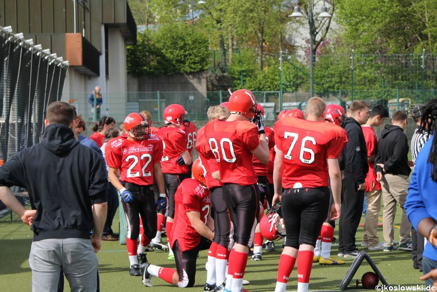 Marburg Mercenaries vs Kaiserslautern Pikes 155