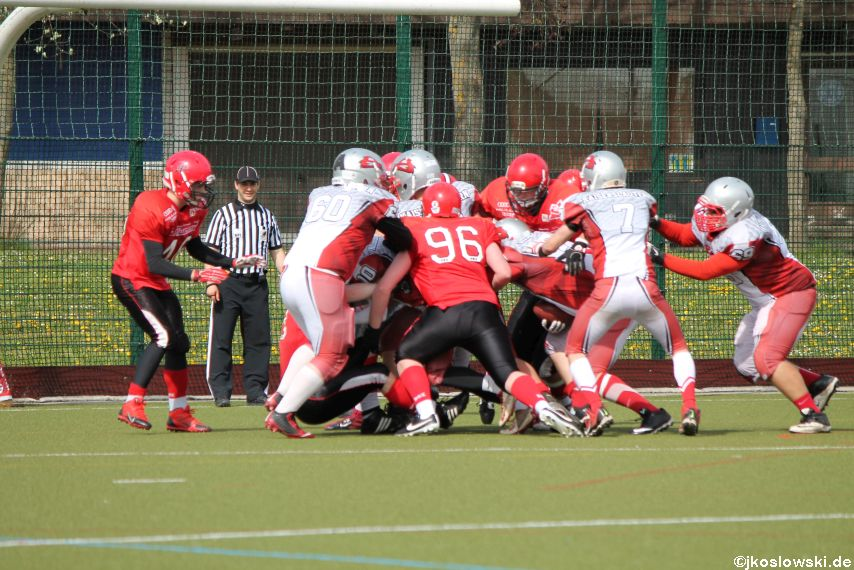 Marburg Mercenaries vs Kaiserslautern Pikes 164