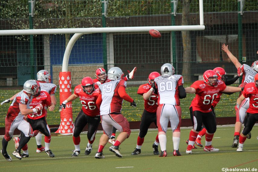 Marburg Mercenaries vs Kaiserslautern Pikes 196