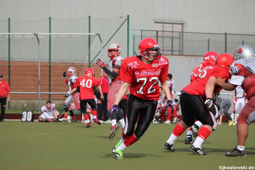 Marburg Mercenaries vs Kaiserslautern Pikes 200