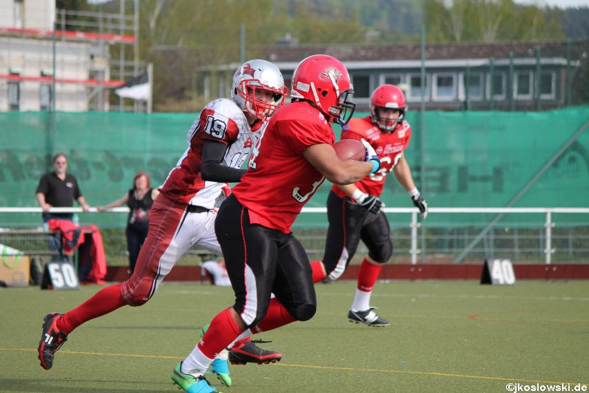 Marburg Mercenaries vs Kaiserslautern Pikes 212