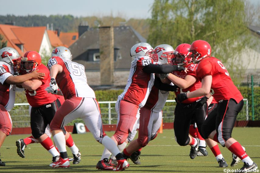 Marburg Mercenaries vs Kaiserslautern Pikes 220