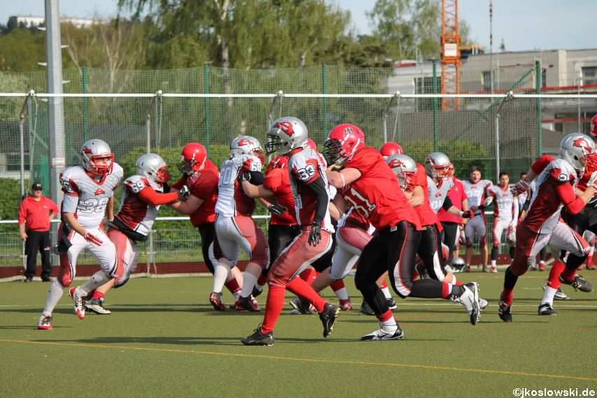 Marburg Mercenaries vs Kaiserslautern Pikes 241