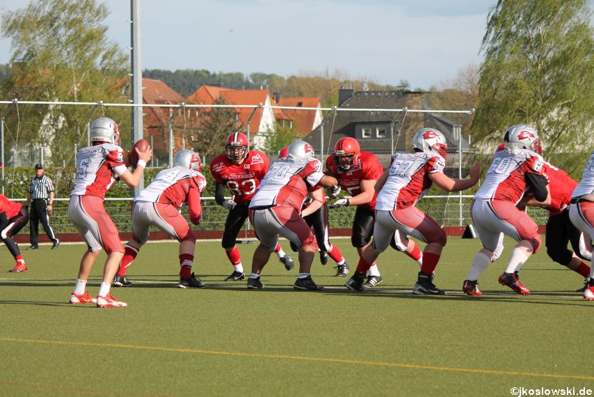 Marburg Mercenaries vs Kaiserslautern Pikes 259