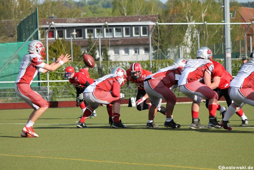 Marburg Mercenaries vs Kaiserslautern Pikes 262