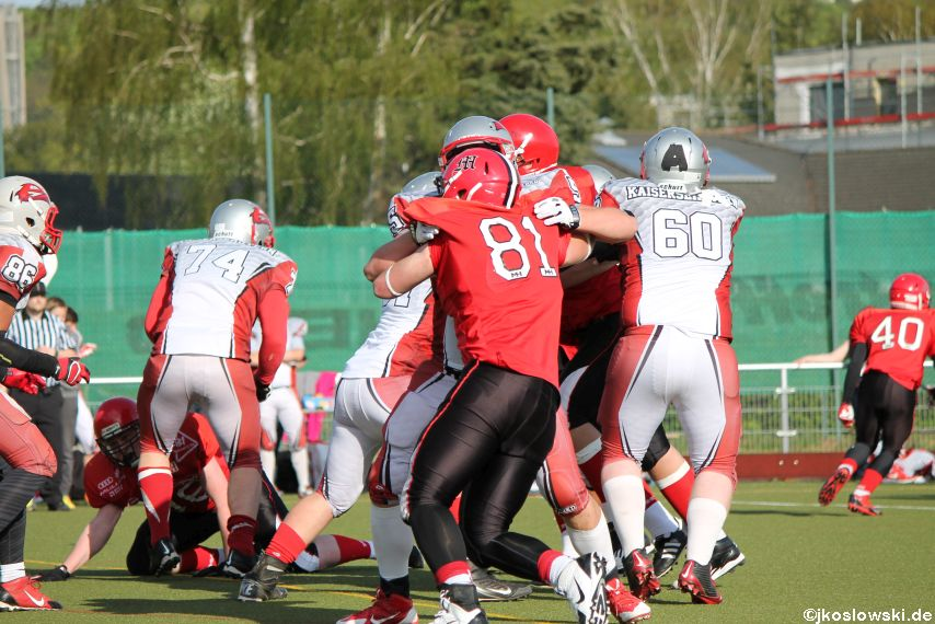 Marburg Mercenaries vs Kaiserslautern Pikes 264