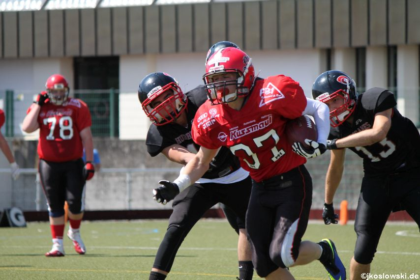 Marburg Mercenaries vs. Saarland Hurricanes 100