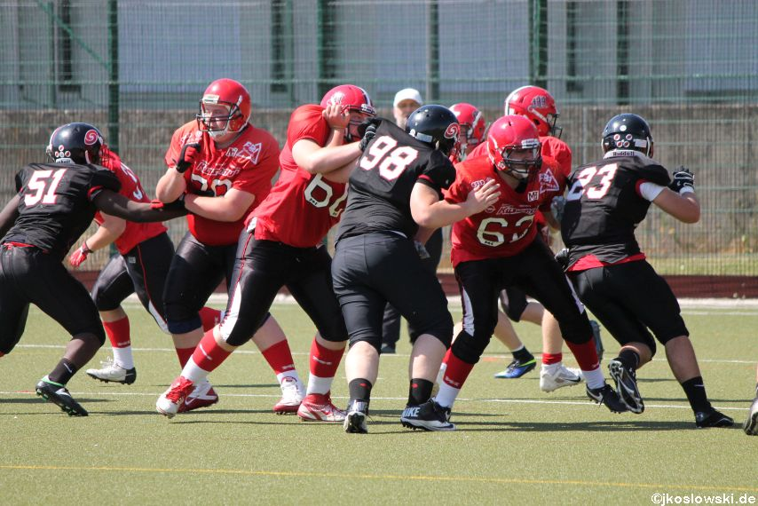 Marburg Mercenaries vs. Saarland Hurricanes 130