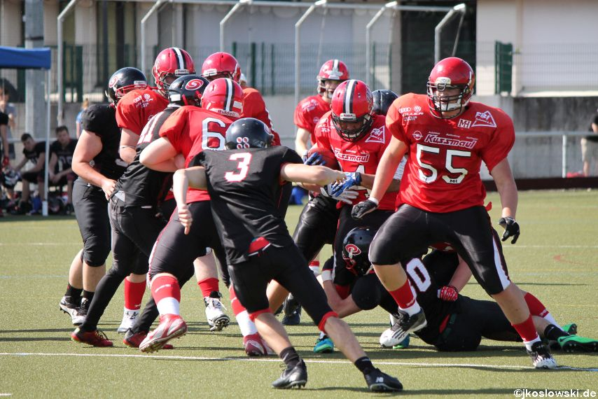 Marburg Mercenaries vs. Saarland Hurricanes 185
