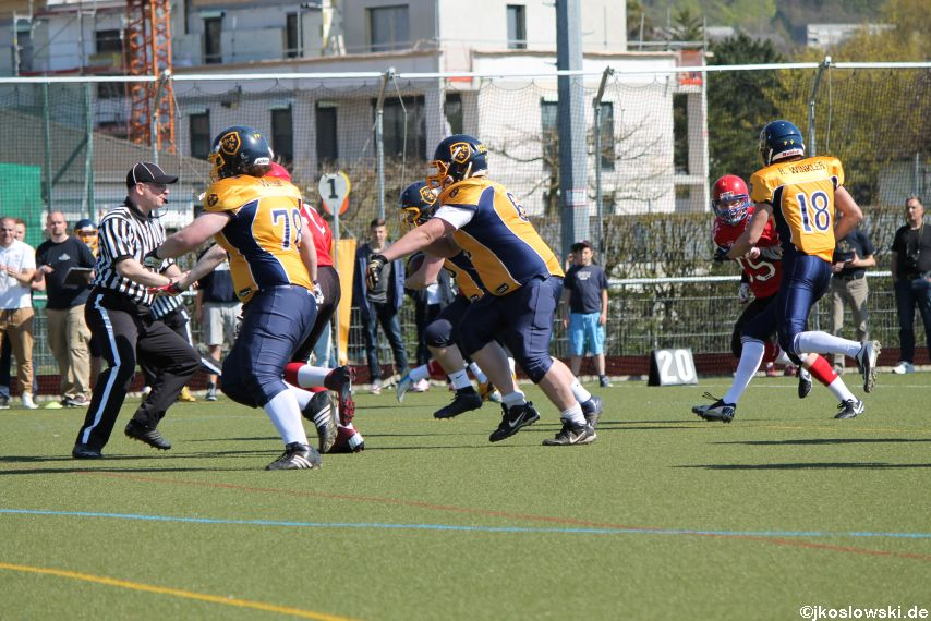 Marburg Mercenaries vs Wiesbaden Phantoms 050
