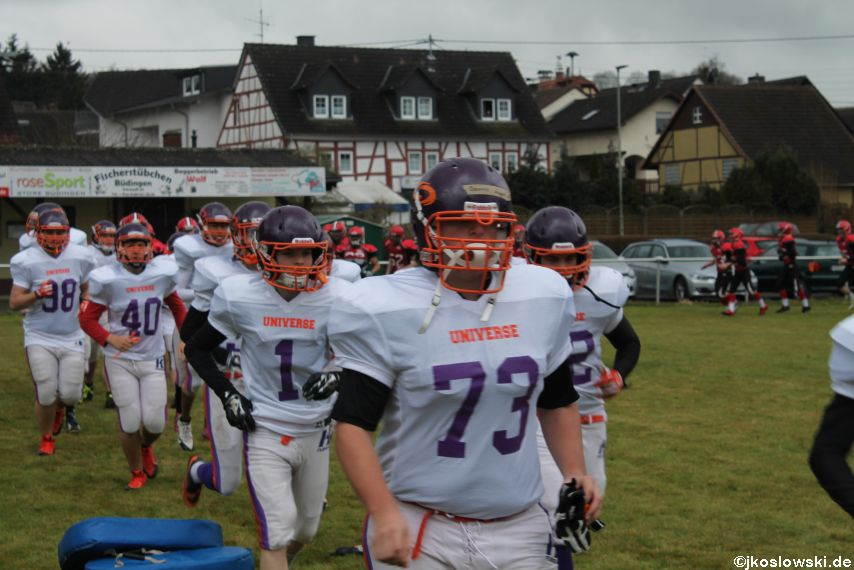 Marburg Mercenaries zu Gast bei Frankfurt Universe TraningsCamp in Büddingen 002