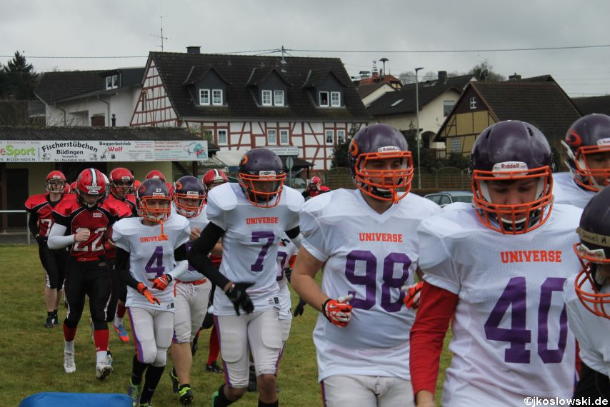 Marburg Mercenaries zu Gast bei Frankfurt Universe TraningsCamp in Büddingen 003