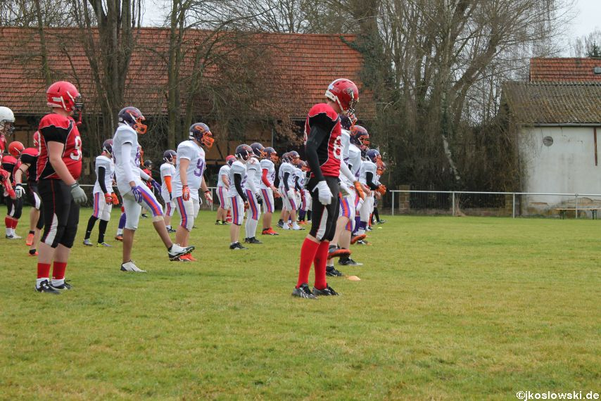 Marburg Mercenaries zu Gast bei Frankfurt Universe TraningsCamp in Büddingen 009