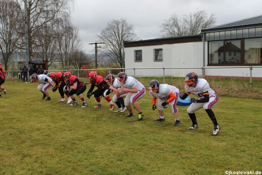Marburg Mercenaries zu Gast bei Frankfurt Universe TraningsCamp in Büddingen 013