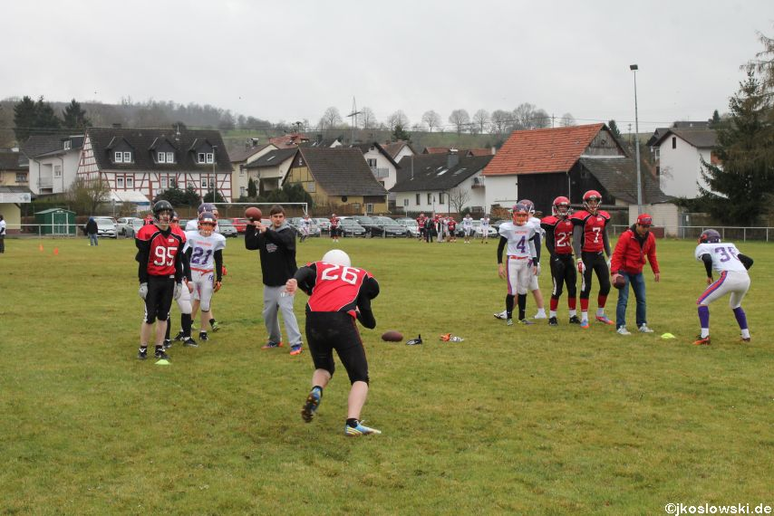 Marburg Mercenaries zu Gast bei Frankfurt Universe TraningsCamp in Büddingen 019