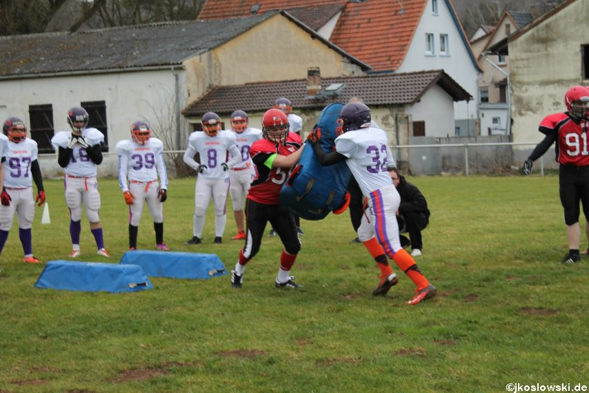 Marburg Mercenaries zu Gast bei Frankfurt Universe TraningsCamp in Büddingen 022