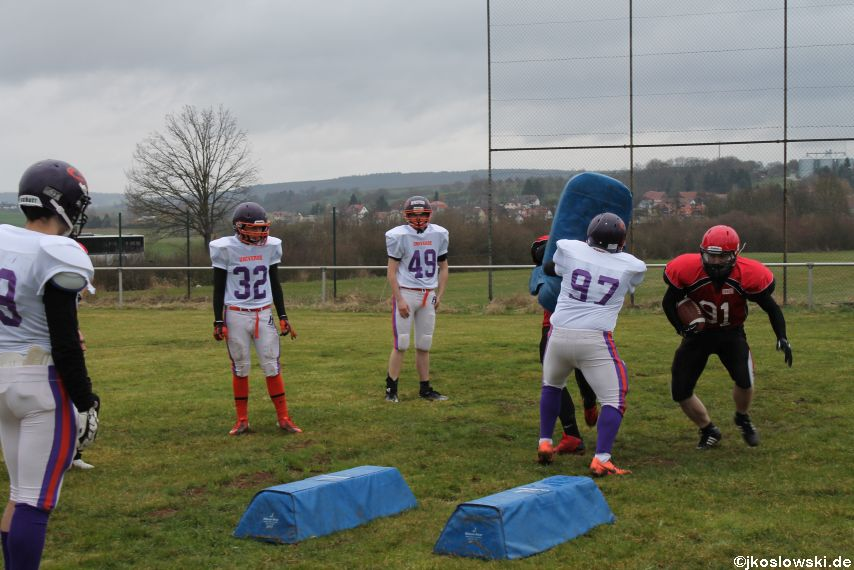 Marburg Mercenaries zu Gast bei Frankfurt Universe TraningsCamp in Büddingen 025