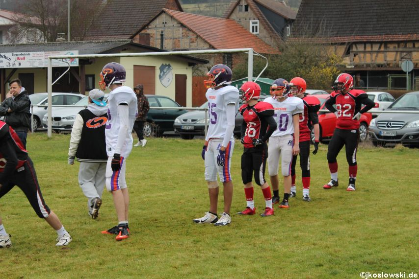 Marburg Mercenaries zu Gast bei Frankfurt Universe TraningsCamp in Büddingen 030