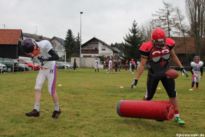 Marburg Mercenaries zu Gast bei Frankfurt Universe TraningsCamp in Büddingen 037