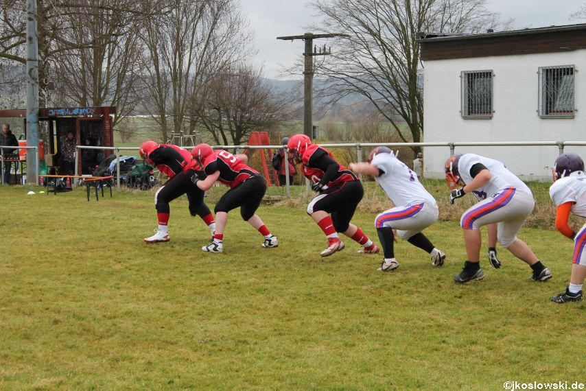 Marburg Mercenaries zu Gast bei Frankfurt Universe TraningsCamp in Büddingen 040