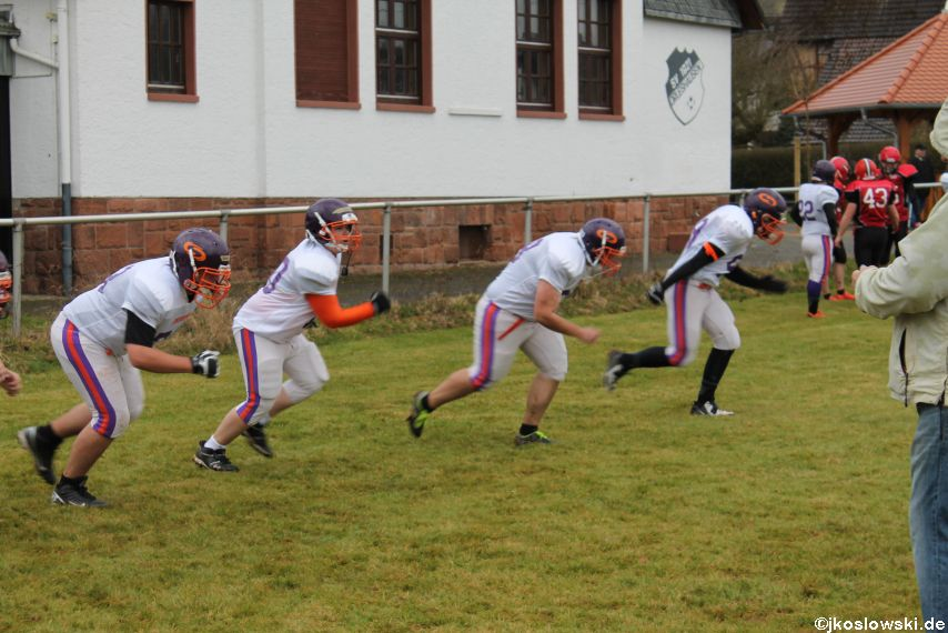 Marburg Mercenaries zu Gast bei Frankfurt Universe TraningsCamp in Büddingen 041