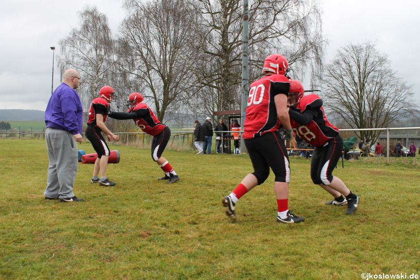 Marburg Mercenaries zu Gast bei Frankfurt Universe TraningsCamp in Büddingen 042