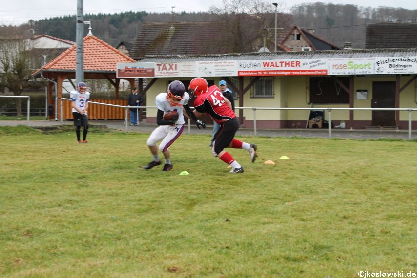 Marburg Mercenaries zu Gast bei Frankfurt Universe TraningsCamp in Büddingen 045