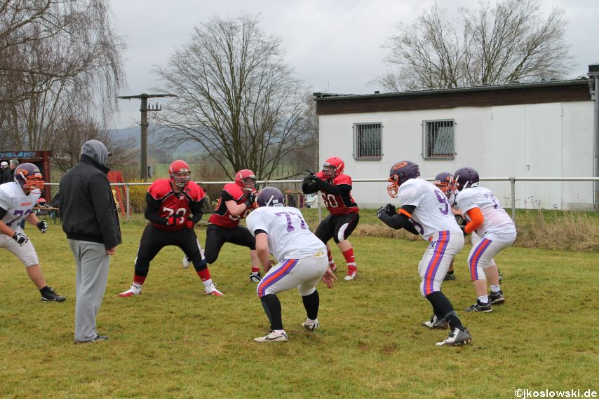Marburg Mercenaries zu Gast bei Frankfurt Universe TraningsCamp in Büddingen 046