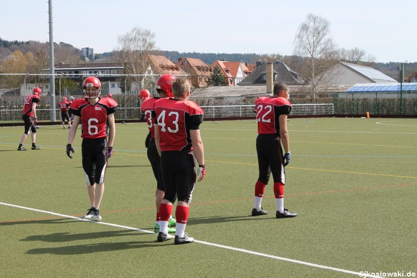 Scrimmage Marburg Mercenaries Darmstadt Diamonds Jugend 007