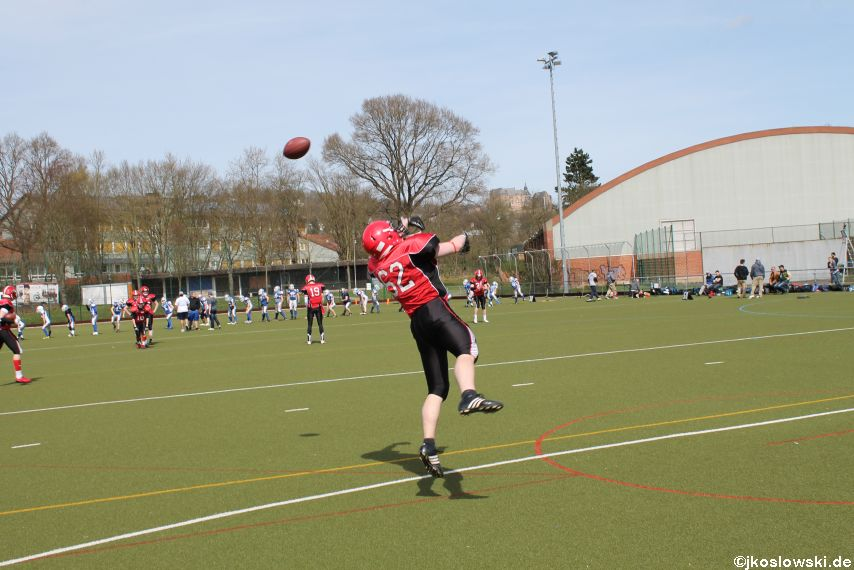Scrimmage Marburg Mercenaries Darmstadt Diamonds Jugend 010