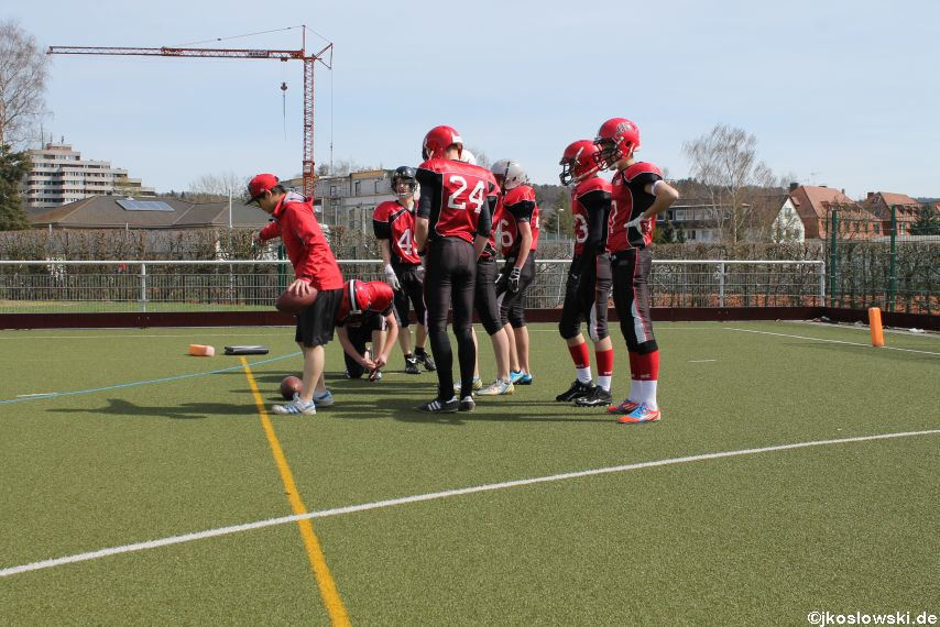 Scrimmage Marburg Mercenaries Darmstadt Diamonds Jugend 011
