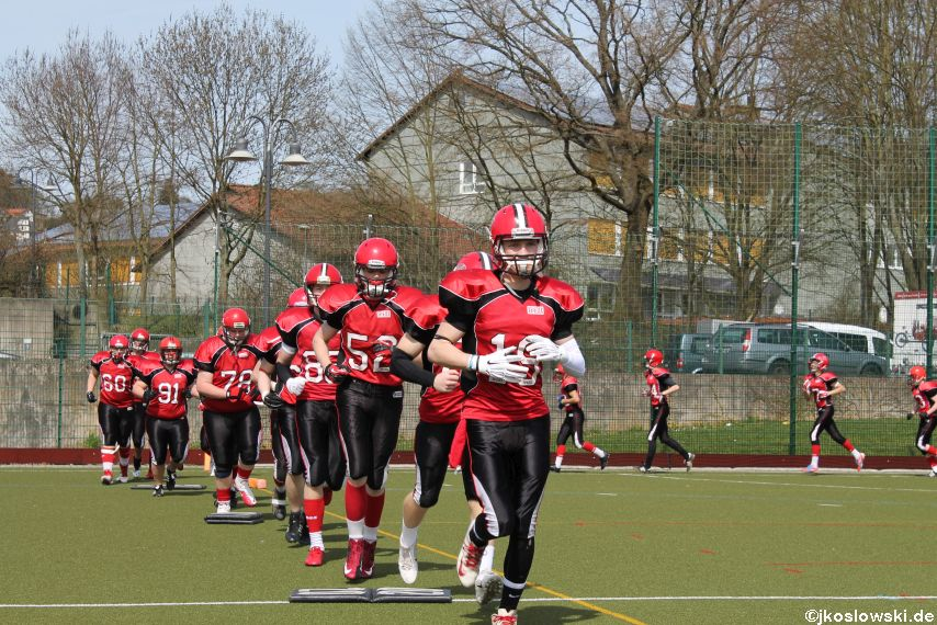 Scrimmage Marburg Mercenaries Darmstadt Diamonds Jugend 017
