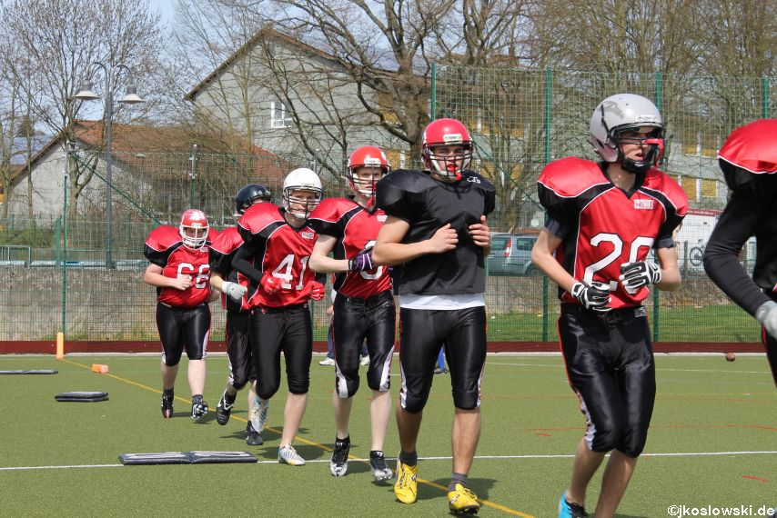 Scrimmage Marburg Mercenaries Darmstadt Diamonds Jugend 019